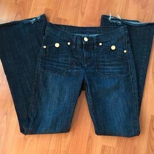Rock & Republic Scorpion Flare Jeans Size 8